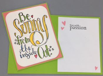 Encouragement, Be Sunny, Laura-Encour-149 Cards by Laura
