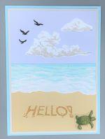 Encouragement, Beach Scene