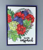 Encouragement-Floral Heart