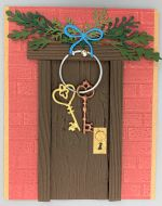 Encouragement-Door w/Keys