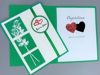 Engagement, White Rose, Laura-Engage-100 Cards by Laura