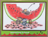 Friendship, Watermelon Feast