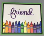 Friendship, Crayon Row