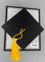 Graduation, Mortarboard with Money Pocket