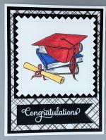 Graduation, Red Cap on Books