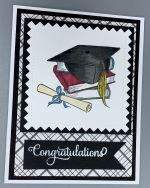 Graduation, Black Cap on Books