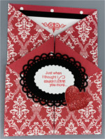 Love, Gate Fold, Red Print Love