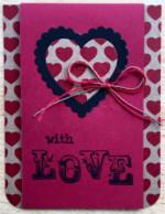 Love, Heart Print Love