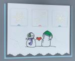 Love, Snow Couple w/Heart