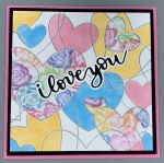 Love-Floral Pastel Hearts