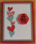 Love-Valentine, Pop Up, Stacked Hearts