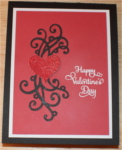 Love-Valentine, Pop Up, Heart Swirls