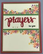 Prayer, Fall Foliage w/Banner