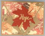 Prayer, Autumn Hope, Arrow Fold (Cancer)