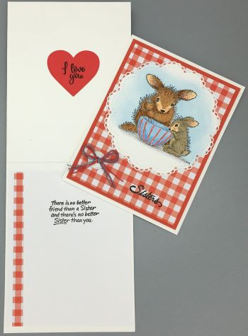 Special, Sisters, Bowl Bunnies, Laura-Special-106 Cards by Laura