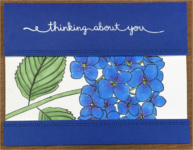 Thinking of You, Hydrangea, Split Cut Out