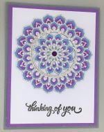 Thinking of You, Calen, Purple & Blue