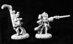 Undead Reaper & Wraiths (8) (Discontinued), SC3002 Reaper Miniatures, Inc.