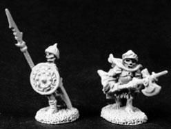 Undead Infantry w/Pole Arms (12) (Discontinued), SC3003 Reaper Miniatures, Inc.
